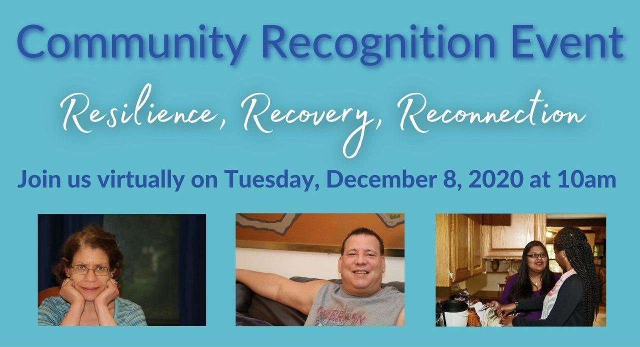 Visit our Community Recognition Event Page